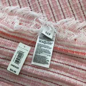 GAP Accessories - GAP Oversized striped scarf.